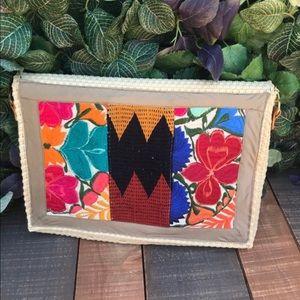 Oaxaca Handwoven & Embroidered Clutch Crossbody
